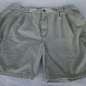 VTG Men's Khaki Hiking Shorts, Misty Mountain (40)